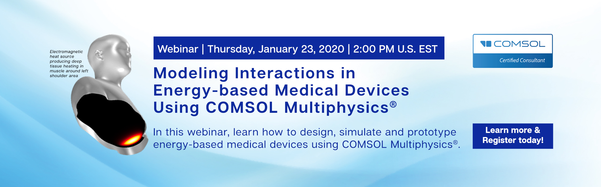 Join Us for our COMSOL webinar